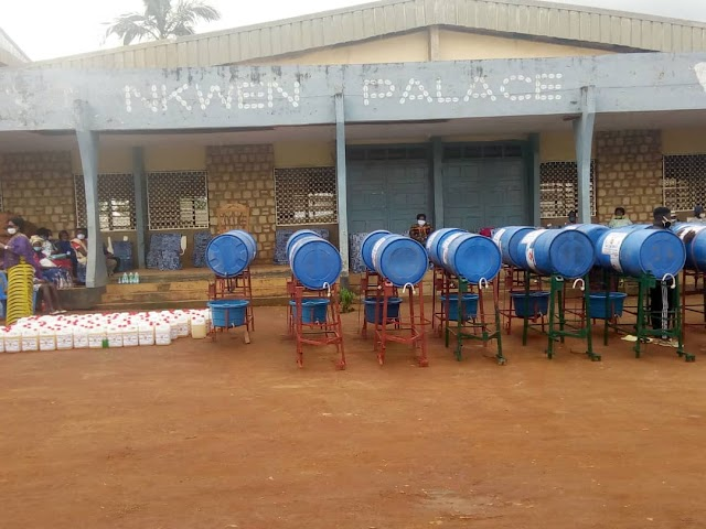 Covid-19: Nkwen Fondom Empowered to tackle spread
