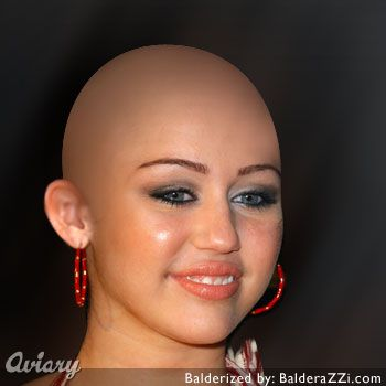 Miley cyrus Balderized Pictures Ever Seen Before