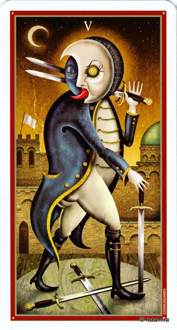 Энциклопедия карт Таро и: Deviant Moon Tarot — Таро Безумной Луны