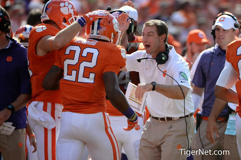 Wake Forest vs. Clemson Photos - 2013, D.J. Howard, Dabo Swinney, Football, Wake Forest