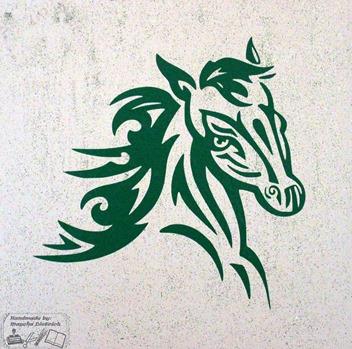 Canvas paard 3