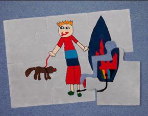 Como decorar con dibujos de niños