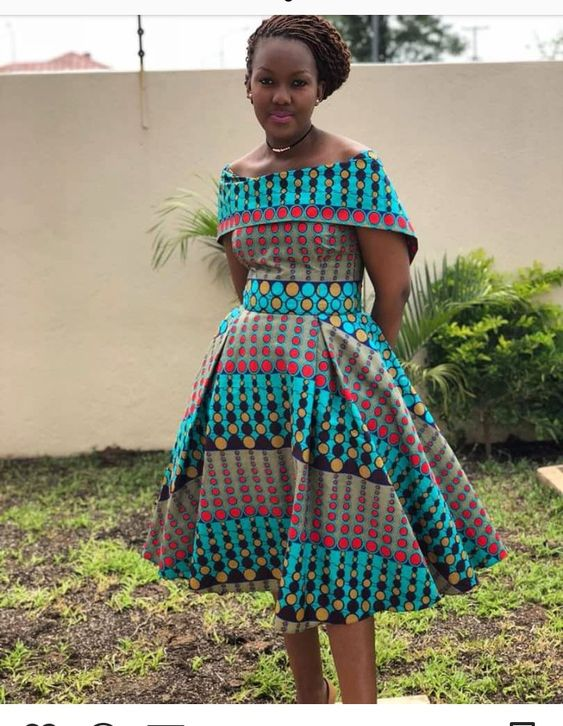 TRADITIONAL SHWESHWE DRESSES 2018 AFRICAN TRADITIONAL 4