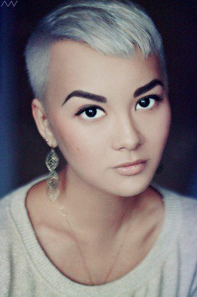 Short Silver Pixie Haircut For 2016