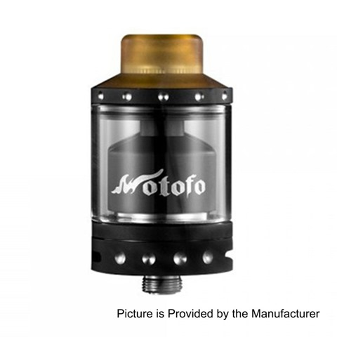 authentic-wotofo-viper-rta-rebuildable-tank-atomizer-black-stainless-steel-3ml-24mm-diameter