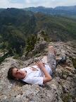 Au sommet, sur l'arête du Quiuillion.