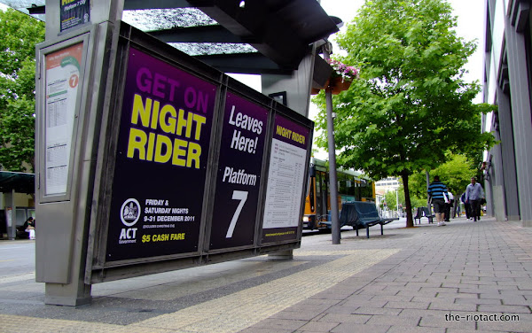Night Rider buses
