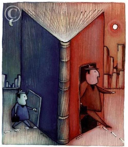 Motive să citești o carte (ilustrați)