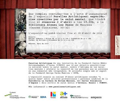 Inauguració Exposició Parelles Artístiques