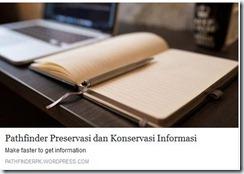 Pathfinder Preservasi dan Konservasi Informasi