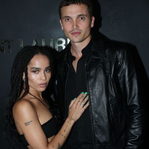 Actress Zoe Kravitz files for divorce from actor husband Karl Glusman after less than two years of marriage