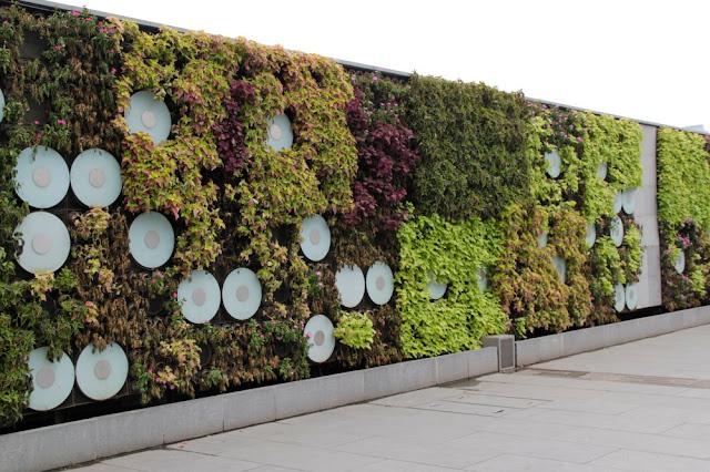Jardin Verticale jardín vertical sencillo y funcional de shanghái - alicante forestal