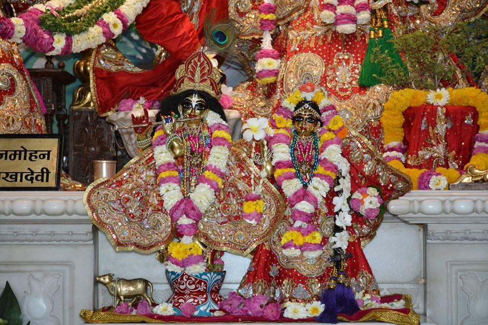 ISKCON Ujjain Deity Darshan 04 April 2016  (2)