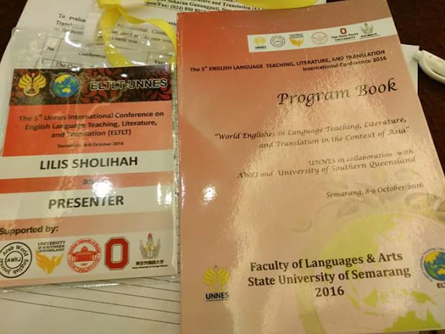 Two lecturers from English Education Department of UM Metro Become Presenters on the 5th Unnes International Conference in Semarang, Indonesia