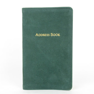 Vintage Tiffany & Co. Leather Address Book