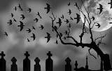 Corbi In Cimitir Gotic