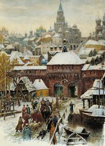 Москва. Конец XVII века, 1902