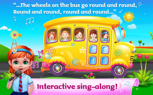 The Wheels on the Bus - Learning Songs & Puzzles 1.0.8 screenshots 1