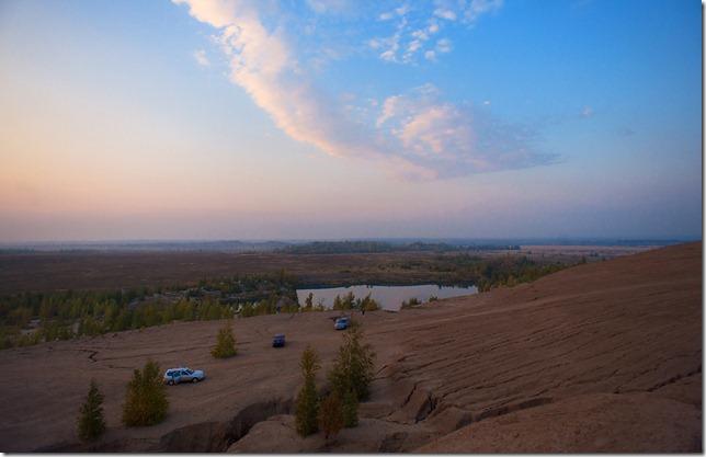 закат в Кондуках, Тульская область