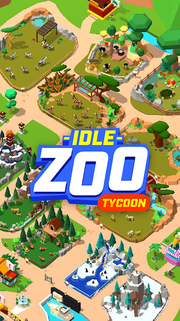 Idle Zoo Tycoon 3D v1.6.7 mod apk download – Animal Park ...