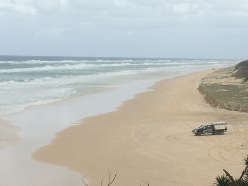 The view from Indian Head, Fraser Island.