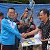 Pj setda  Lampura H Sofyan meresmikan tempat wisata Arum jeram The green Bamboo