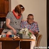Toneelvereniging Palvu speelt Eigen aard is goud waard in de Kiepe - Foto's Harry Wolterman