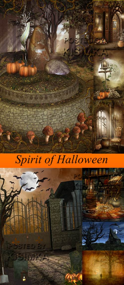 Stock Photo: Spirit of Halloween