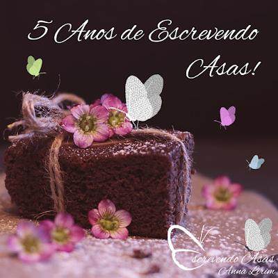 Aniversário do Blog Escrevendo Asas - bolo, borboletas