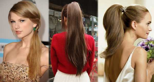 PRETTY HORSETAIL HAIRSTYLES FOR ATTRACTIVE LADY 1