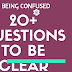 30 Smart Questions to Become A Confidence Person : How  to Gain Clarity