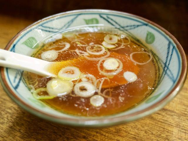 チャーハンに付属のスープ