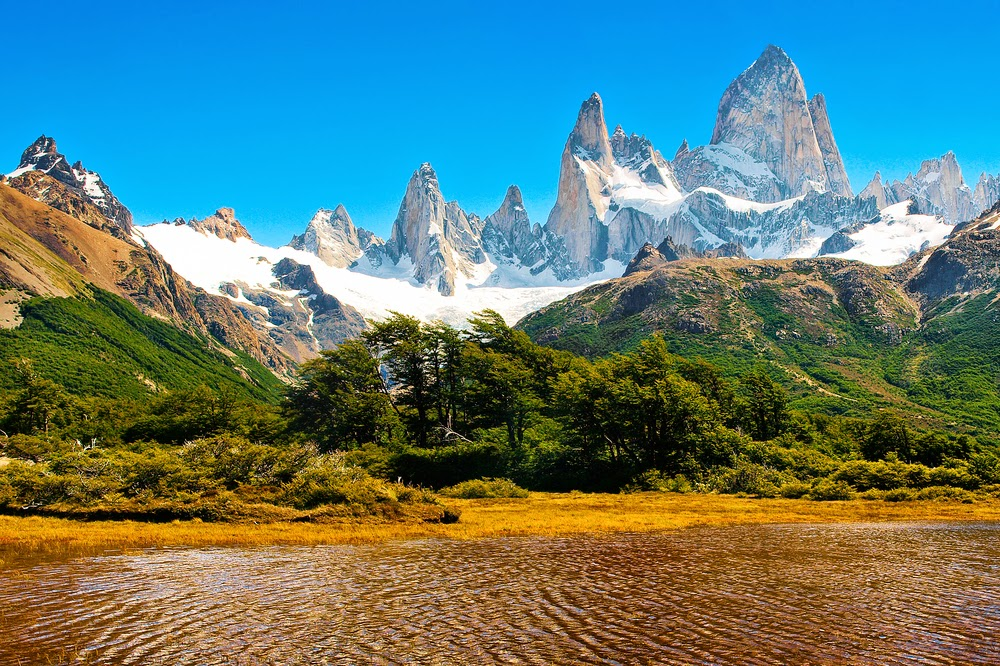 Mt Fitz Roy, Los Glaciares National Park, Argentina