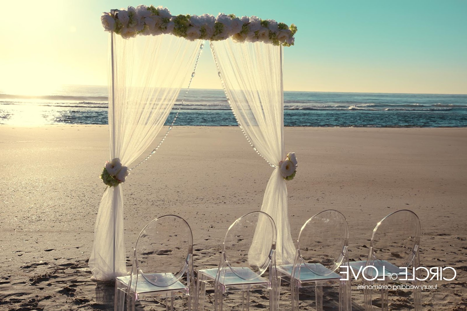 hawaiian beach wedding