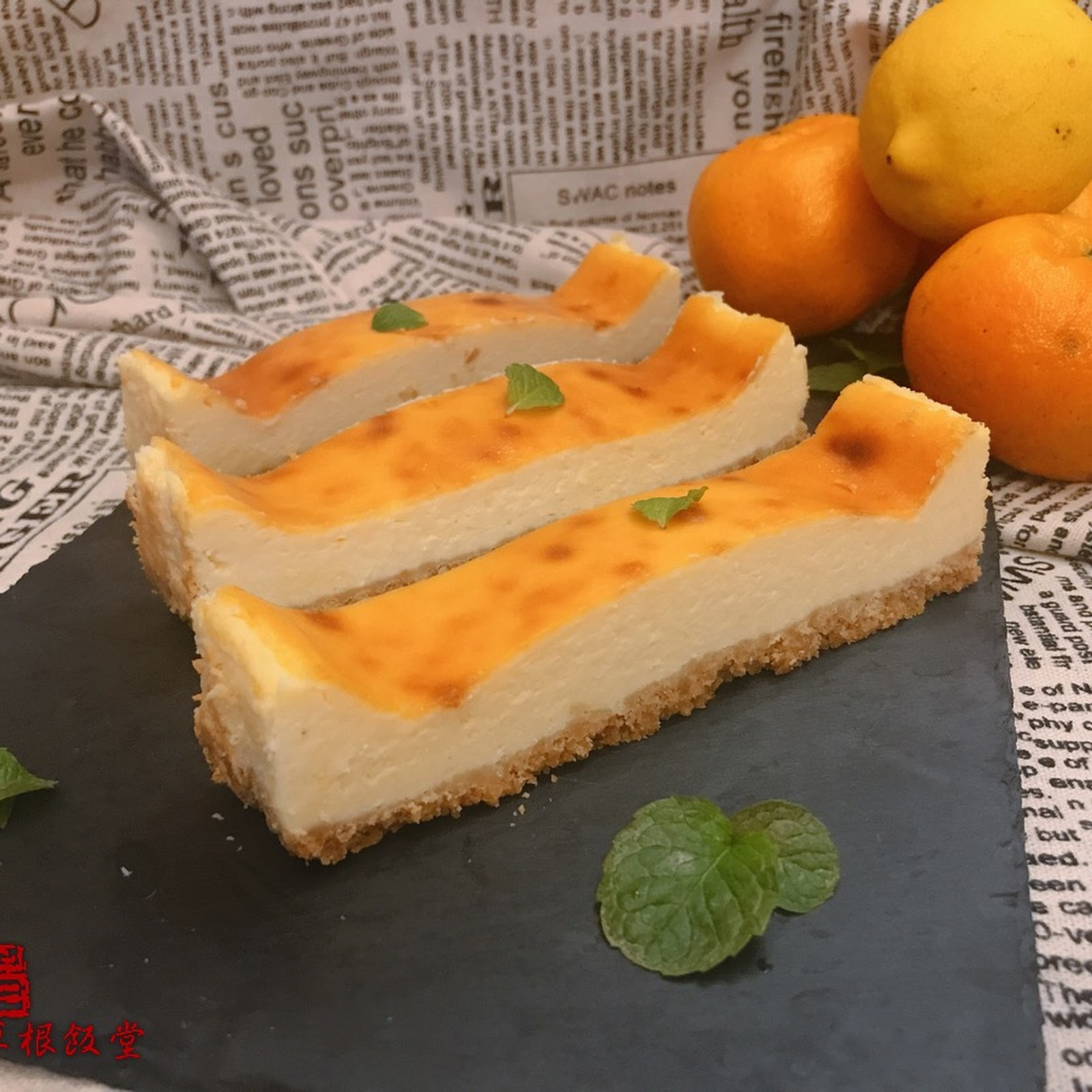 "重芝士蛋糕條 - 復活疑似雪壞了的cream cheeseEasy Baked Cheese Cake - Used up the ""ruined"" Frozen Cream Cheese"