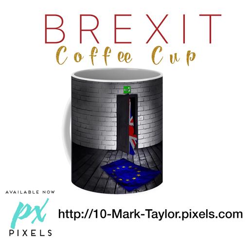 Brexit coffee mug by Mark Taylor