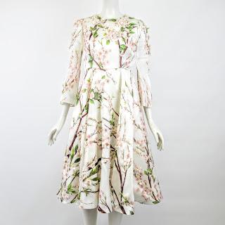 Dolce & Gabbana NEW Floral Applique Dress Sz. 38