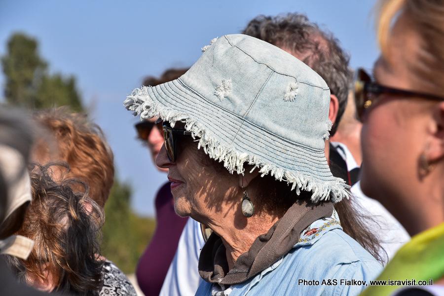 На экскурсии гида Светланы Фиалковой. Израиль, Национальный парк Бейт Шеарим.