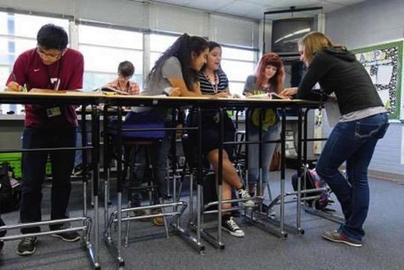 Cognition standing desks