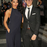 OIC - ENTSIMAGES.COM - Karen Hauer and Kevin Clifton at the Beyond Bollywood - press night  at the London Palladium London 11th May 2015  Photo Mobis Photos/OIC 0203 174 1069
