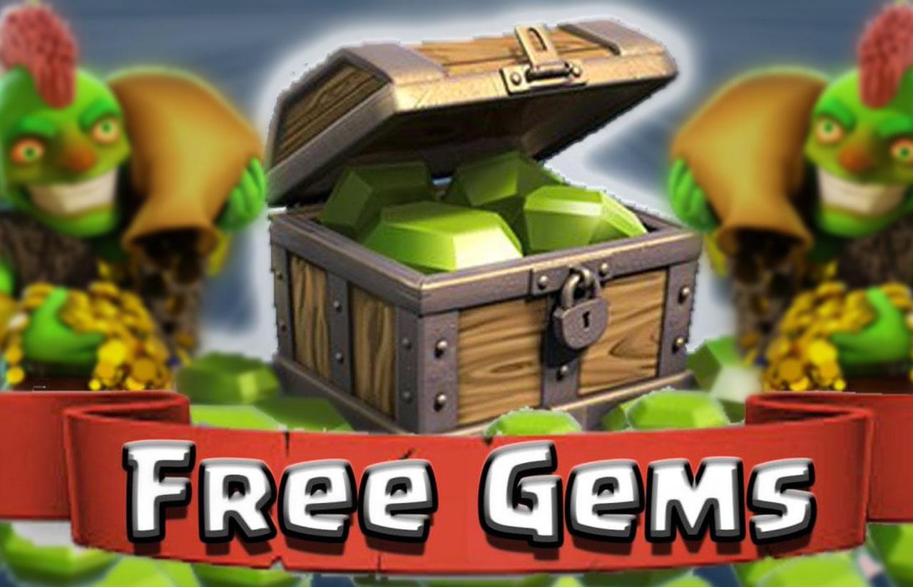 Gems gratis di COC bukan tipu tipu
