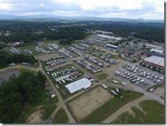 Drone view 2 of Escapade Rally