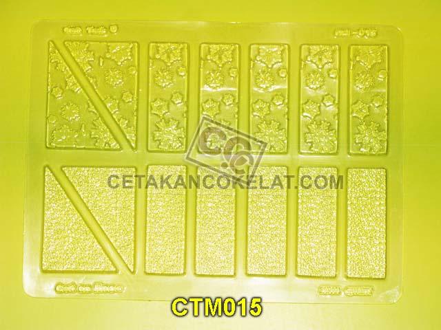 cetakan coklat cokelat CTM015_Wafer CTM15 CTM