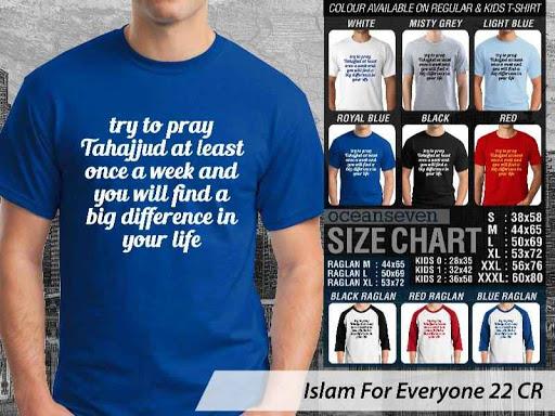 Kaos Distro Islami For Everyone 22 distro ocean seven