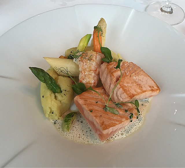 Um delicioso salmão!