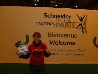 Paris Marathon Bib