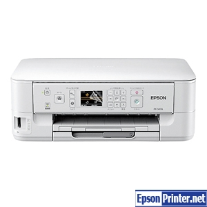 How to reset Epson PX-503A printer