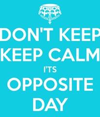 calm opposite