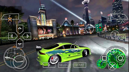 SAIU! NEED FOR SPEED UNDERGROUND 2 - LITE 150Mb (MOD) PARA ANDROID (PPSSPP)