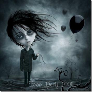 dibujos lapiz llorar y tristeza  (3)